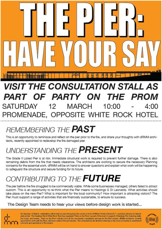 the pier have your say